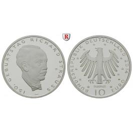 Bundesrepublik Deutschland, 10 Euro 2014, Richard Strauss, D, PP