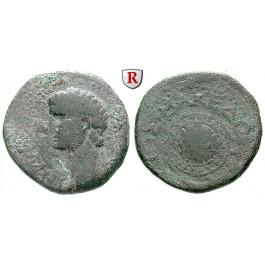 Römische Provinzialprägungen, Makedonien, (Beroia für das) Koinon, Claudius I., Bronze, f.ss/s-ss