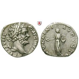 Römische Kaiserzeit, Septimius Severus, Denar 194-195, ss-vz
