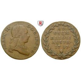 Österreich, Kaiserreich, Franz II. (I.), 2 Liards 1793, ss