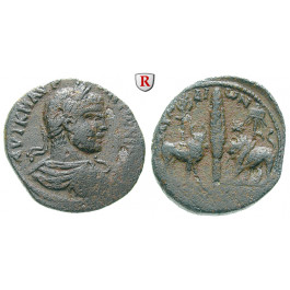 Römische Provinzialprägungen, Phönizien, Arados, Caracalla, Bronze, f.ss/ss