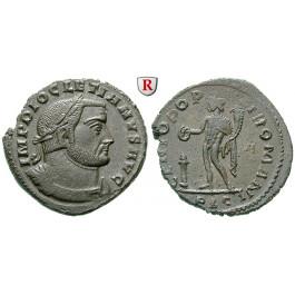 Römische Kaiserzeit, Diocletianus, Follis 301-303, vz
