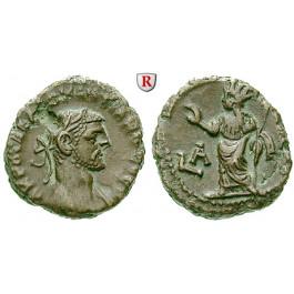 Römische Provinzialprägungen, Ägypten, Alexandria, Diocletianus, Tetradrachme Jahr 1 = 284/285, ss