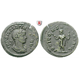 Römische Kaiserzeit, Diocletianus, Denar, ss+
