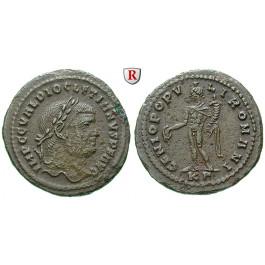 Römische Kaiserzeit, Diocletianus, Follis 295-296, ss+/ss-vz