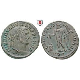 Römische Kaiserzeit, Diocletianus, Follis 299, ss-vz/vz+