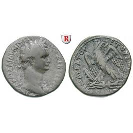 Römische Provinzialprägungen, Seleukis und Pieria, Antiocheia am Orontes, Domitianus, Tetradrachme 91-92 = Jahr 11, ss
