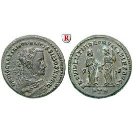 Römische Kaiserzeit, Diocletianus, Follis 305-307, vz