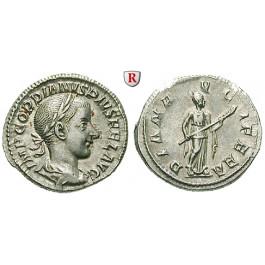 Römische Kaiserzeit, Gordianus III., Denar 241, vz