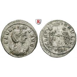 Römische Kaiserzeit, Severina, Frau des Aurelianus, Antoninian 274-275, vz