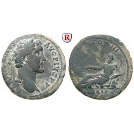 Römische Kaiserzeit, Antoninus Pius, As 140-144, ss+/ss