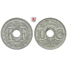 Frankreich, Vichy - Regierung, 10 Centimes 1941, f.st