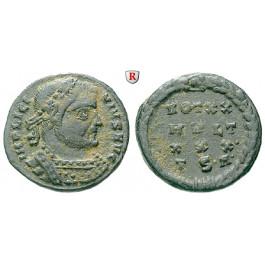 Römische Kaiserzeit, Licinius I., Follis 318-319, ss