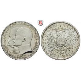 Deutsches Kaiserreich, Hessen, Ernst Ludwig, 2 Mark 1904, Philipp der Großmütige, vz/st, J. 74