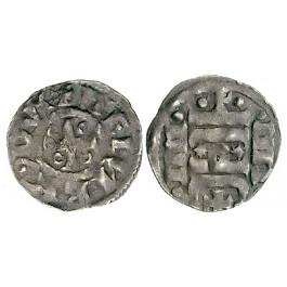 Braunschweig, Herzogl.-Welfische Mzst., Heinrich der Löwe, Pfennig 1139-1179, f.ss