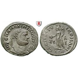 Römische Kaiserzeit, Maximianus Herculius, Follis 301, vz-st