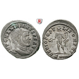 Römische Kaiserzeit, Maximianus Herculius, Follis 299-300, vz