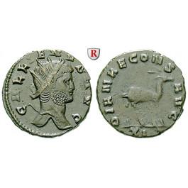 Römische Kaiserzeit, Gallienus, Antoninian 260-268, vz/ss+