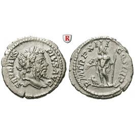 Römische Kaiserzeit, Septimius Severus, Denar 205, vz/ss-vz