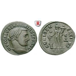 Römische Kaiserzeit, Maximinus II., Follis, f.vz