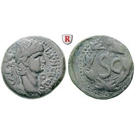 Römische Provinzialprägungen, Seleukis und Pieria, Antiocheia am Orontes, Nero, Semis, ss