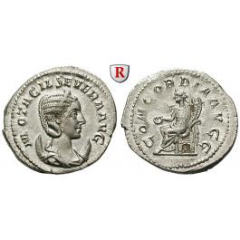 Römische Kaiserzeit, Otacilia Severa, Frau Philippus I., Antoninian 247, vz-st