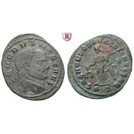 Römische Kaiserzeit, Severus II., Caesar, Follis 305, ss
