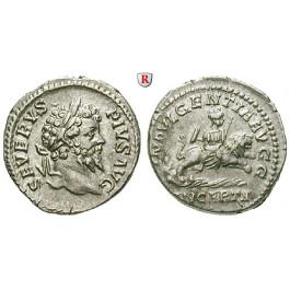 Römische Kaiserzeit, Septimius Severus, Denar, vz/ss-vz