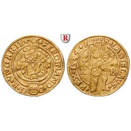 Römisch Deutsches Reich, Ferdinand I., Dukat 1534, 3,4 g fein, ss+