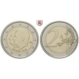 Spanien, Felipe VI., 2 Euro 2014, bfr.