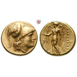Makedonien, Königreich, Alexander III. der Grosse, Stater 323-317 v.Chr., ss-vz/vz