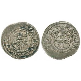 Werden und Helmstedt, Abtei, Konrad II. von Klocht, Groschen 1614, vz