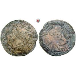 Sachsen, Sachsen-Coburg-Eisenach (Alt-Gotha), Johann Casimir und Johann Ernst, Reichstaler 1624, ss-vz
