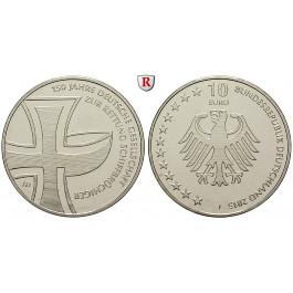 Bundesrepublik Deutschland, 10 Euro 2015, J, bfr.