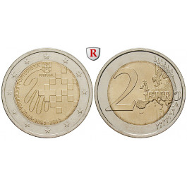 Portugal, Republik, 2 Euro 2015, bfr.