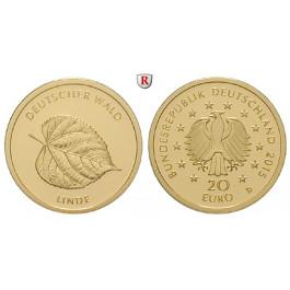Bundesrepublik Deutschland, 20 Euro 2015, nach unserer Wahl, D-J, 3,89 g fein, st