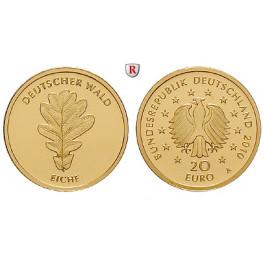 Bundesrepublik Deutschland, 20 Euro 2010, nach unserer Wahl, D-J, 3,89 g fein, st
