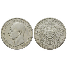 Deutsches Kaiserreich, Oldenburg, Friedrich August, 2 Mark 1900, A, ss, J. 94