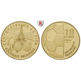 Frankreich, V. Republik, 10 Euro 2004, 7,77 g fein, PP