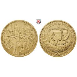 Österreich, 2. Republik, 100 Euro 2009, 16,0 g fein, PP