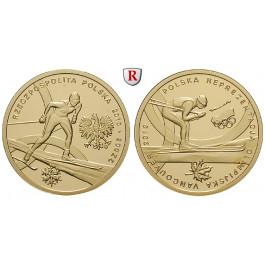 Polen, 3. Republik, 200 Zlotych 2010, 13,95 g fein, PP
