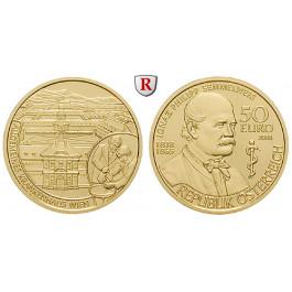 Österreich, 2. Republik, 50 Euro 2008, 10,0 g fein, PP