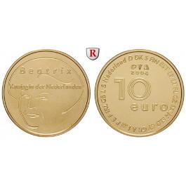 Niederlande, Königreich, Beatrix, 10 Euro 2004, 6,05 g fein, st