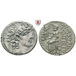 Syrien, Königreich der Seleukiden, Philippos Philadelphos, Tetradrachme, vz