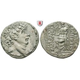 Syrien, Königreich der Seleukiden, Philippos Philadelphos, Tetradrachme 89-83 v.Chr., vz