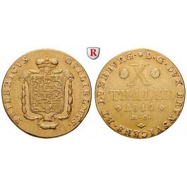 Braunschweig, Braunschweig-Wolfenbüttel, Friedrich Wilhelm, 10 Taler 1814, ss+/ss