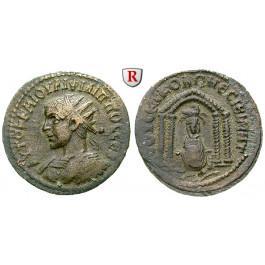 Römische Provinzialprägungen, Mesopotamien, Nisibis, Philippus II., Bronze, ss+