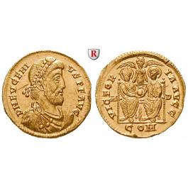 Römische Kaiserzeit, Eugenius, Solidus 392-394, f.prfr.