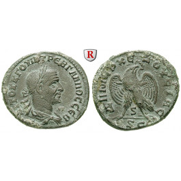 Römische Provinzialprägungen, Seleukis und Pieria, Antiocheia am Orontes, Trebonianus Gallus, Tetradrachme 251, vz
