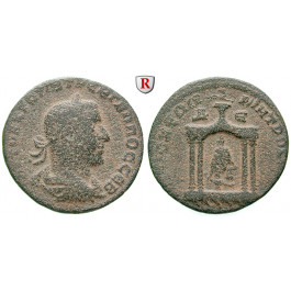 Römische Provinzialprägungen, Seleukis und Pieria, Antiocheia am Orontes, Trebonianus Gallus, Bronze 251-253, ss-vz